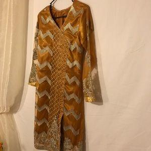 Beautiful formal dress from Pakistan